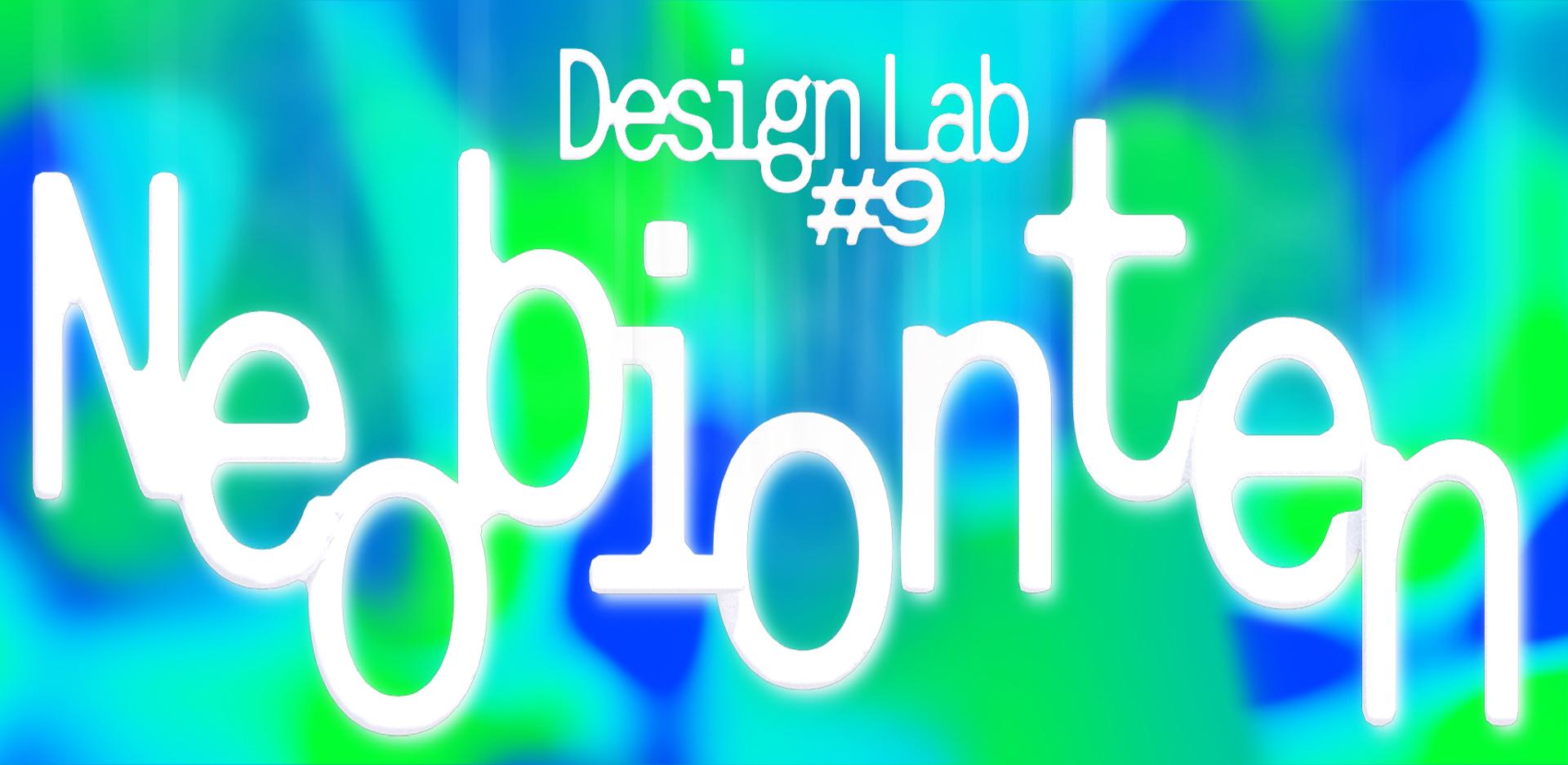 Grafisches Banner des Design Lab #9 Neobionten